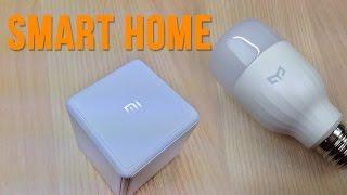 Xiaomi Mi Magic Controller и Xiaomi Yeelight Умный дом