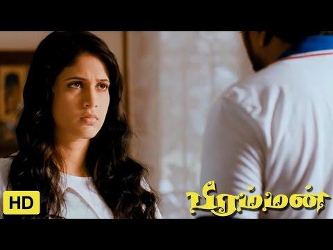 Bramman Tamil Movie   Scenes   M. Sasikumar Convincing Lavanya Tirpathi