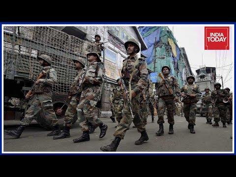 Army back on Darjeeling Streets After Renewed Violence