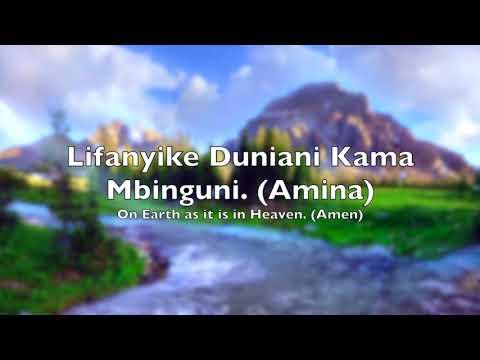 Baba Yetu Original - English & Swahili Lyrics
