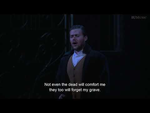 Tombe degl'avi miei...Fra poco a me ricovero - Joseph McBrayer (Lucia di Lammermoor)