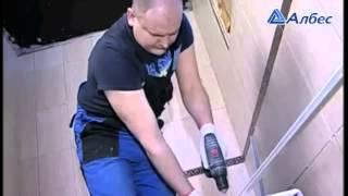 Монтаж реечного потолка(В данном видео описывается монтаж потолка в ванной комнате. Купить материал можно в интернет-магазине стро..., 2015-06-09T05:49:37.000Z)