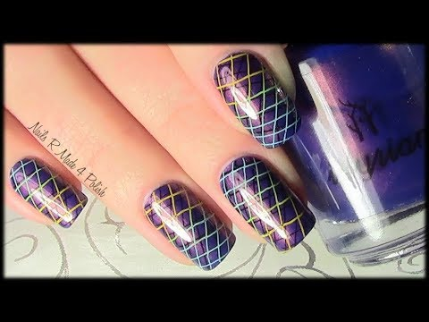 geometric-stamping-nailart-design-tutorial-/-quick-&-easy-manicure-with-nail-polish
