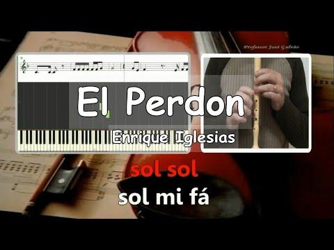el-perdon-nicky-jam-&-enrique-iglesias-karaoke-para-flauta-educação-musicall