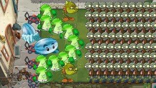 Plants vs Zombies 2 - Snapdragon Winter Melon vs 999 Zombies