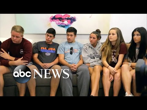School shooting survivor: Kids were bleeding out everywhere