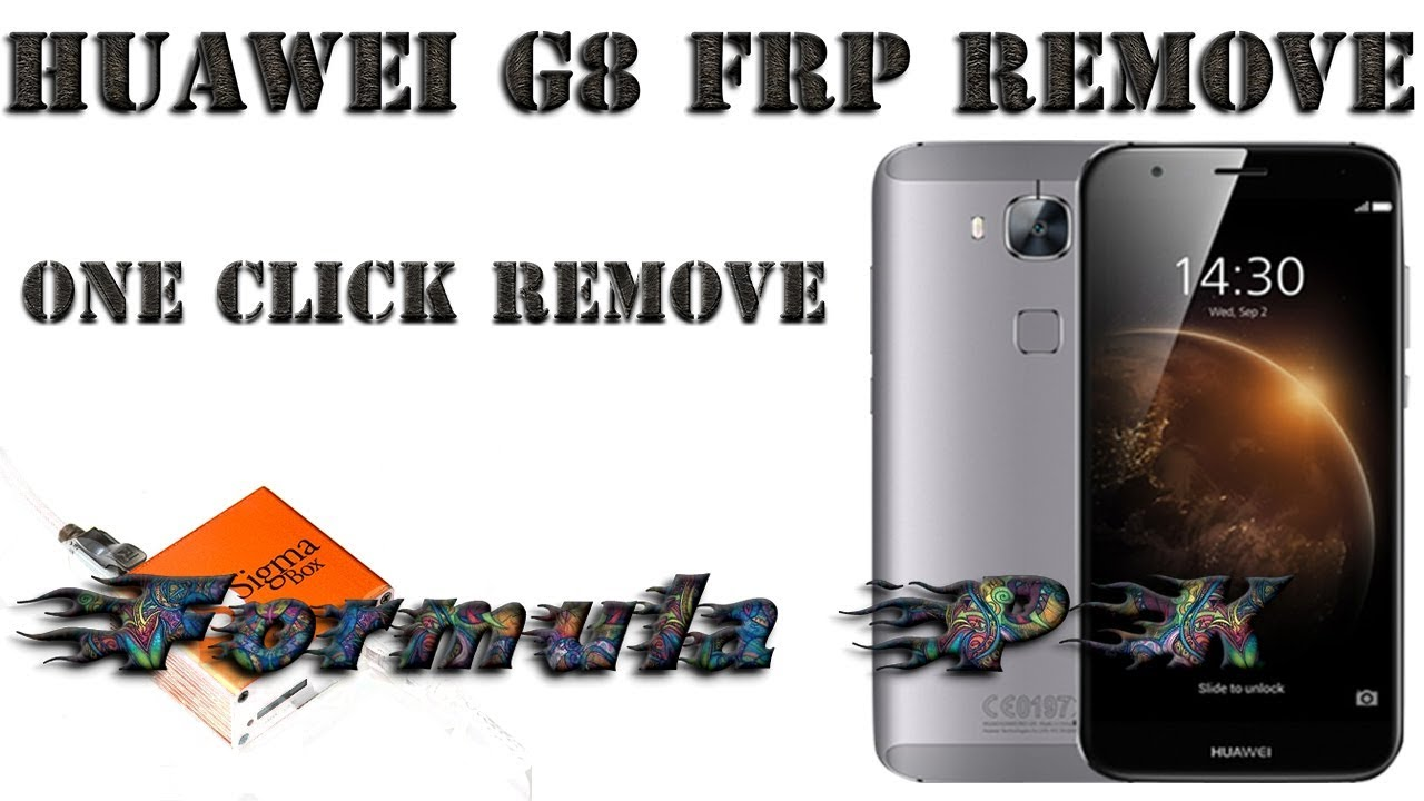 how to Huawei G8 RIO L01 frp remove with sigma box