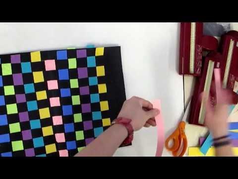 First Grade Art-Paper Loom- Weaving