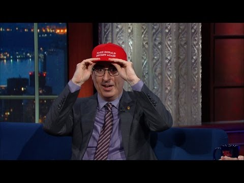 John Oliver Never Thought He'd Have To Care About Trump