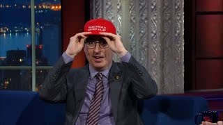 John Oliver Never Thought He\'d Have To Care About Trump