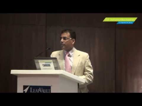 Mr. Karthik K S, CEO, 24x7 Learning at Chief Learning Officers Summit India