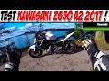 #MotoVlog 109 : TEST KAWASAKI Z650  A2 / NOUVELLE CONCURRENTE MT07 ?