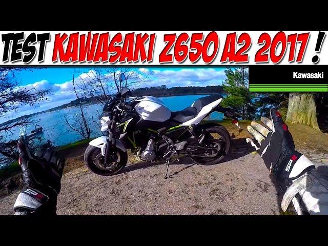 #MotoVlog 70 : TEST KAWASAKI Z650 A2 / NOUVELLE CONCURRENTE MT07 ?