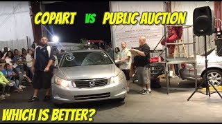 Which is Better: Copart Vs Public Auction