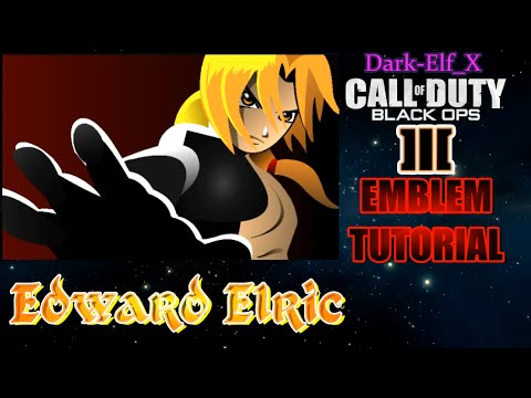 Black Ops 3 Emblem Edward Elric Full Metal Alchemist Brotherhood