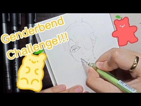 GENDERBEND CHALLENGE!!!   New Art Materials~  