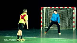Salming Handball Penalty throw - Thumb screw