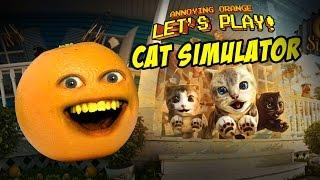 Annoying Orange - Let's Play Cat Simulator!