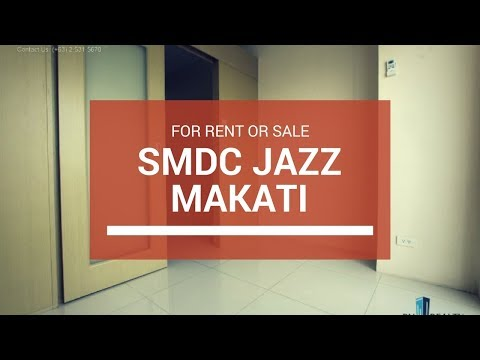 SM Jazz Residences, SMDC Condo in Makati For Sale ₱ 7M For Rent 50K/Mo