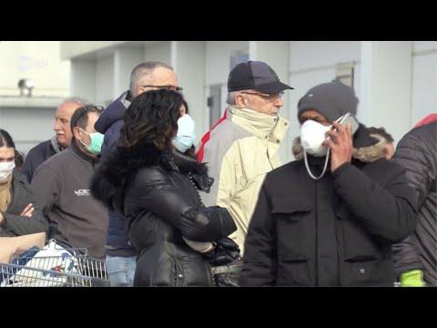 كورونا يثير الهلع في إيطاليا.. طوابير طويلة أمام المحال التجارية  - نشر قبل 3 ساعة