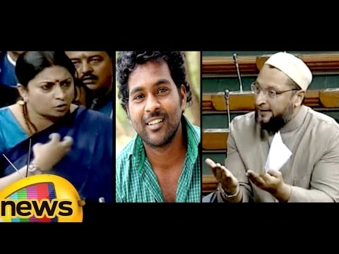Smriti Irani Powerful Reply to Asaduddin Owaisi Over Rohit Vemula Demise   Lok Sabha   Mango News