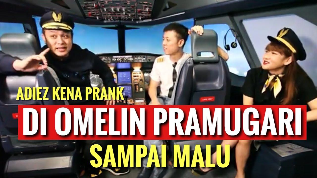 ADIEZ DI PRANK GILANG!! MASUK KE EMERGENCY EQUIPMENT COMPARTMENT!! PRAMUGARINYA NGAMUK!!