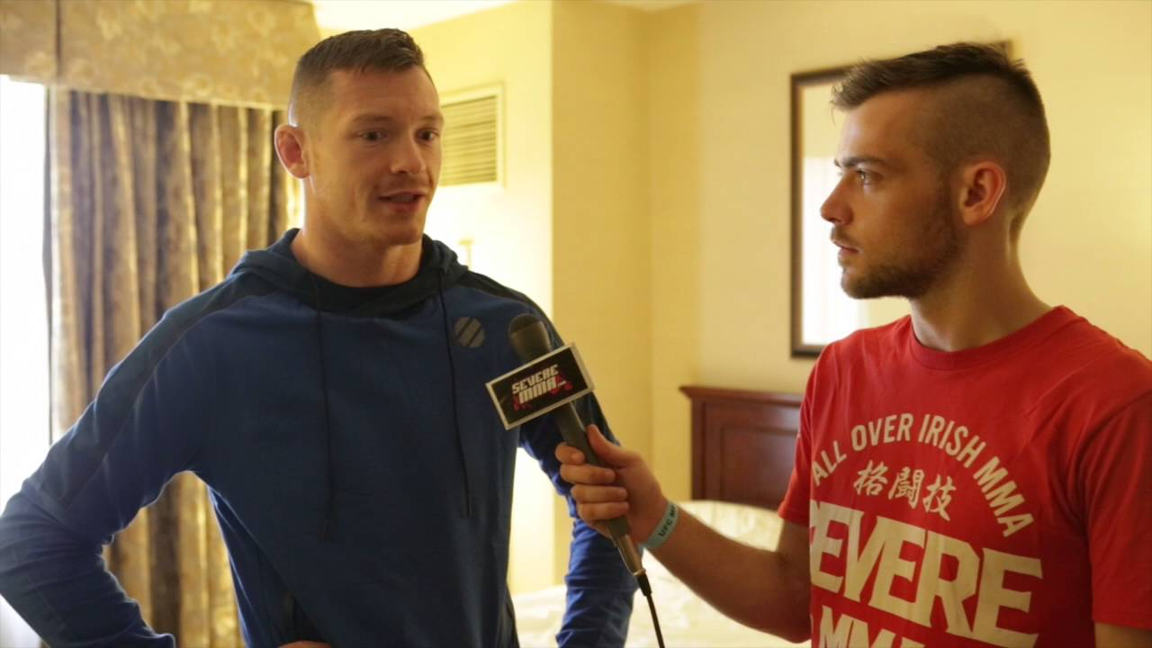 Video - Joseph Duffy talks Clarke, Training with GSP, John