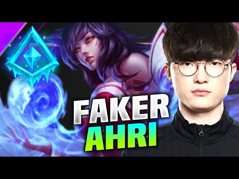 FAKER IS SO CLEAN WITH AHRI! - T1 Faker Plays Ahri Mid vs Azir! | KR SoloQ 10.15