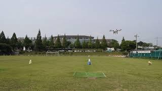 드론자격증 실기시험 - 측풍 접근 및 착륙 1