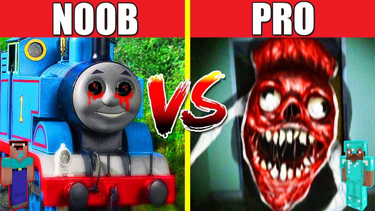 THOMAS EXE VS BRIDGE WORM HOUSE BUILD CHALLENGE - NOOB vs PRO vs HACKER vs GOD / Minecraft Animation