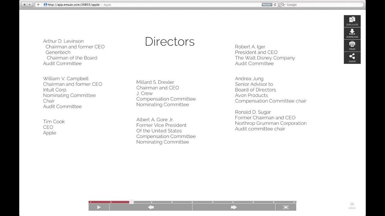 Apple company presentation youtube apple company presentation toneelgroepblik Images