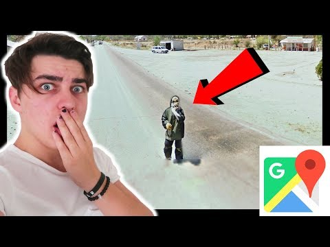 CREEPIEST/WEIRDEST GOOGLE MAPS PHOTOS (w/ Roommates)