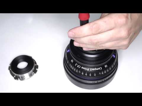 Carl Zeiss Lenses - Mount Change At IBC 2014