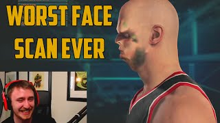 WORST NBA 2K15 FACE SCAN EVER!