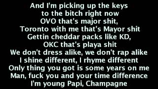 French Montana - Pop That (LYRICS) ft. Rick Ross, Drake & Lil Wayne