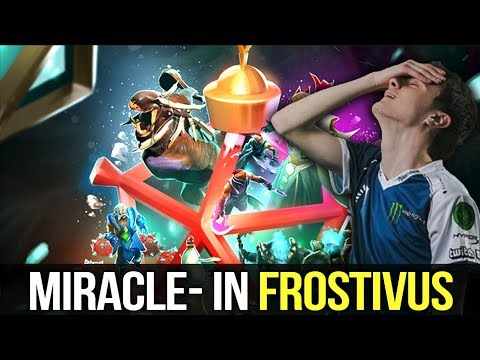 Miracle- 2nd Try on Valve Special Event Frostivus - New Mini Games - Dota 2