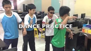 Robot Dance Practice. Sk St Joseph Primary School Miri.