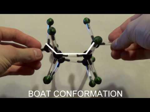 Cyclohexane Ring Flip