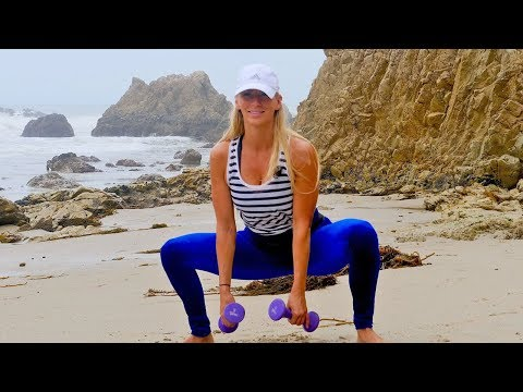 25 Minute Fat Burning Workout with Weights // Burn 250 Calories