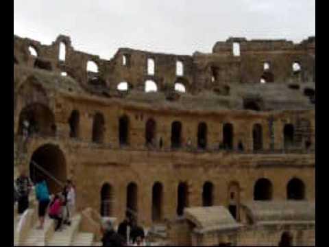 Anfiteatro de El Jem, Túnez.