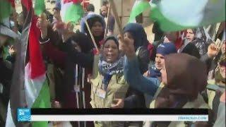 إضراب شبه تام في الأراضي الفلسطينية إحياء ليوم الأرض