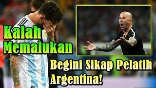 SIAL!!! Argentina Kalah Memalukan dari Kroasia, Begini Sikap Pelatih Argentina!