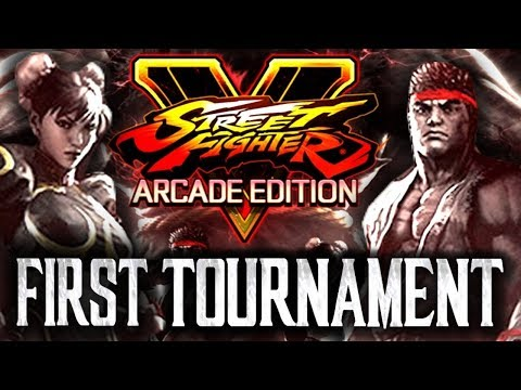 Street Fighter V: Arcade Edition - First Tournament! [TOP4 + Finals[