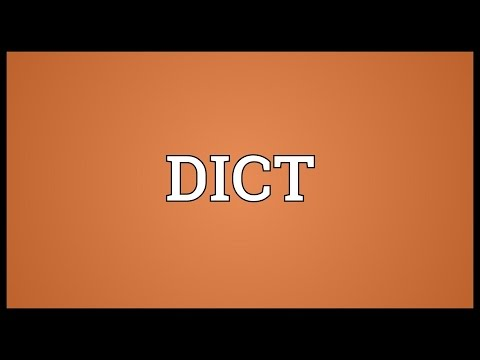 DICT Meaning