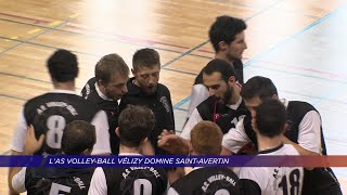 Yvelines | L'AS Volley-ball Vélizy domine Saint-Avertin