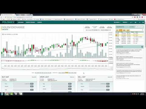 How to Trade / Buy / Sell on Poloniex with Ethereum or Bitcoin