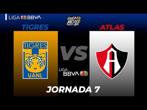 U.A.N.L. Tigres Atlas Goals And Highlights