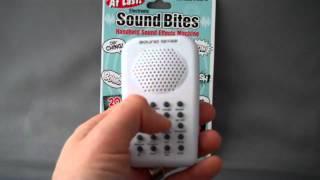 Electronic Sound Bites Handheld Sound Effects Machine