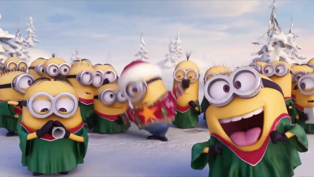 MERRY Christmas = MINIONS Happy Holidays 2015 Despicable Movie HD - YouTube