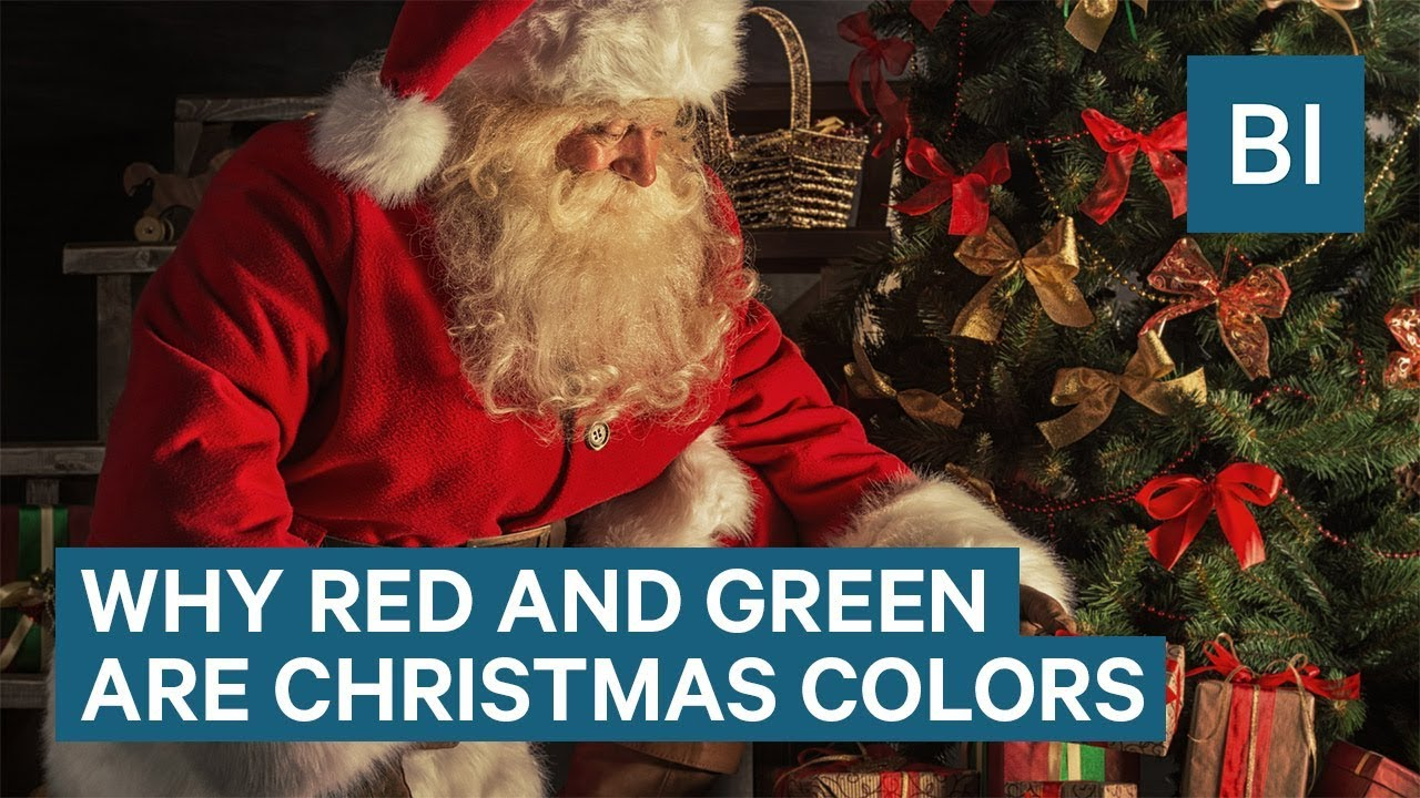 how red and green became christmas colors - Why Are Red And Green Christmas Colors